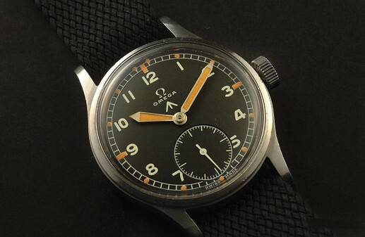 Dirty_Dozen_British_military_WWW_watches_at_A_Collected_Man_London2