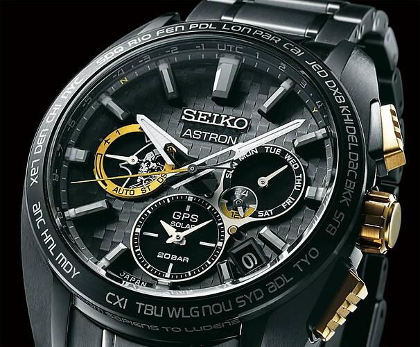 Seiko Astron GPS Solar KOJIMA PRODUCTIONS Limited Edition SSH097