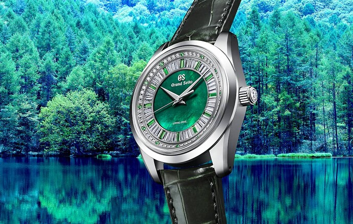 Grand Seiko Masterpiece CollectionSpring Drive 8 Day Jewelry WatchSeiko 140th Anniversary Limited Edition